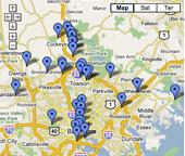 Kid Baltimore Map